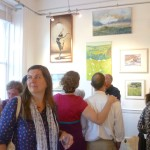 Preview at Glos Art Gallery Exeter