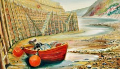Clovelly Harbour (sold,print available)