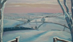 Exe Valley Winter (sold- print available)