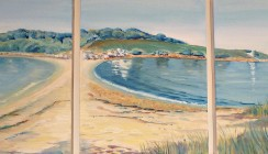 St Agnes Triptych- sold