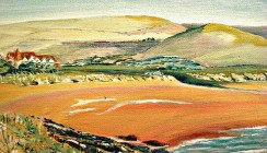 Woolacombe Bay  Commissioned by J.Castallack- Ridgely, Kent